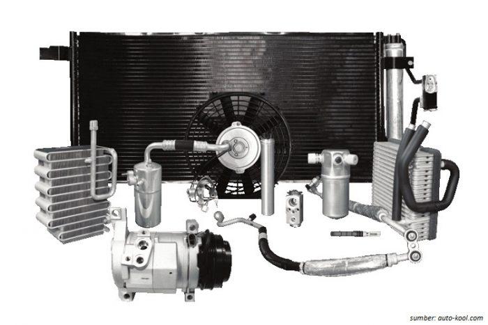 Kompressor-AC-komponen-mobil